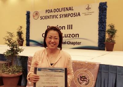 Receiving Certificate