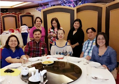 With Tarlac Dental Chapter Organizers
