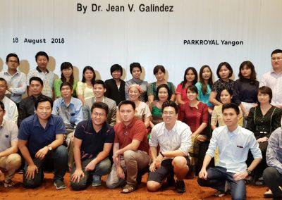 Myanmar Dentists Group Photo