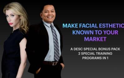 Facial Aesthetics with Dental Marketing DESC Combo Program